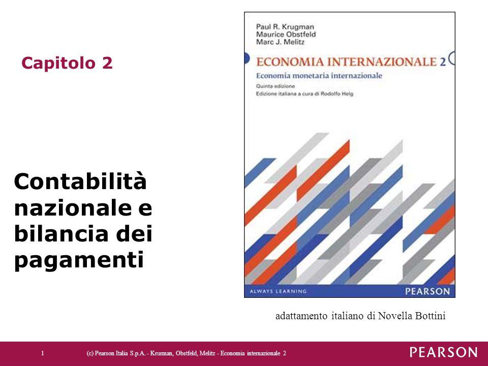 Contabilità nazionale e bilancia dei pagamenti
