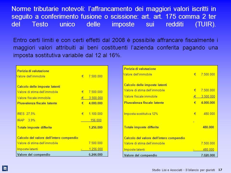 22 maggio 2008 il bilancio per giuristi ppt scaricare - Calcolo del valore di un immobile ...