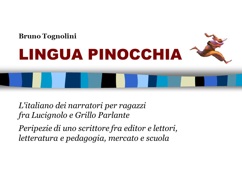 Bruno Tognolini LINGUA PINOCCHIA