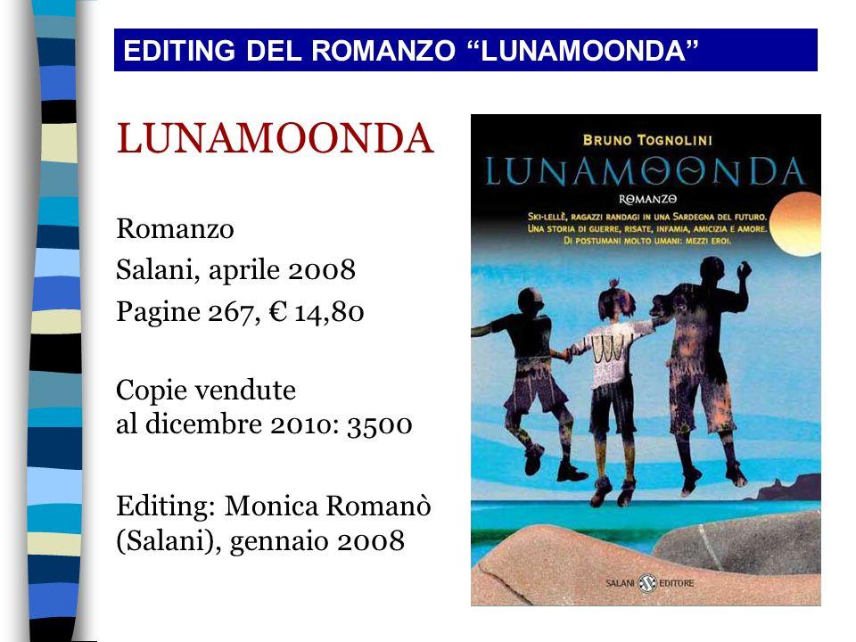 LUNAMOONDA EDITING DEL ROMANZO LUNAMOONDA Romanzo