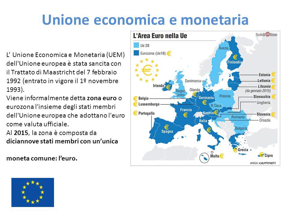 Unione economica e monetaria