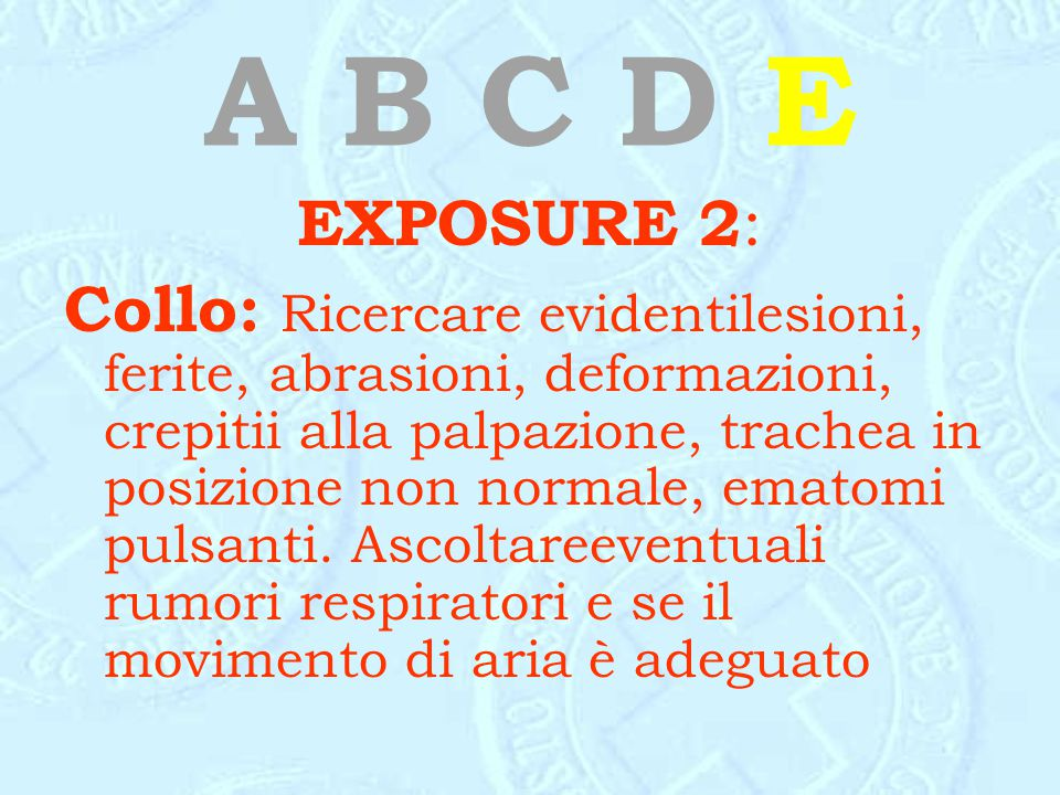 A B C D E EXPOSURE 2: