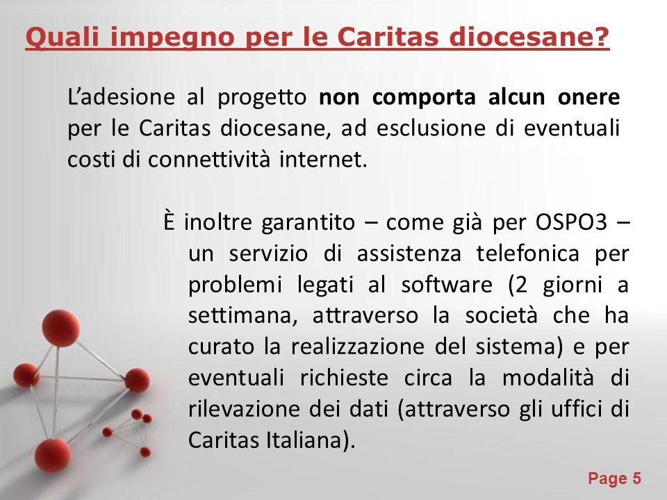 Quali impegno per le Caritas diocesane