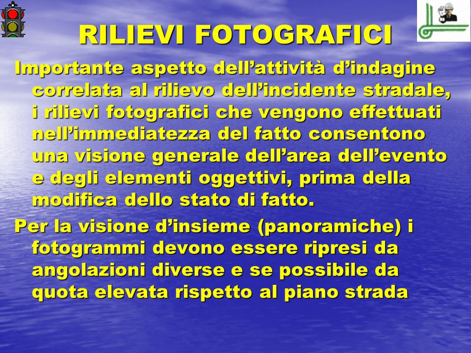 RILIEVI FOTOGRAFICI
