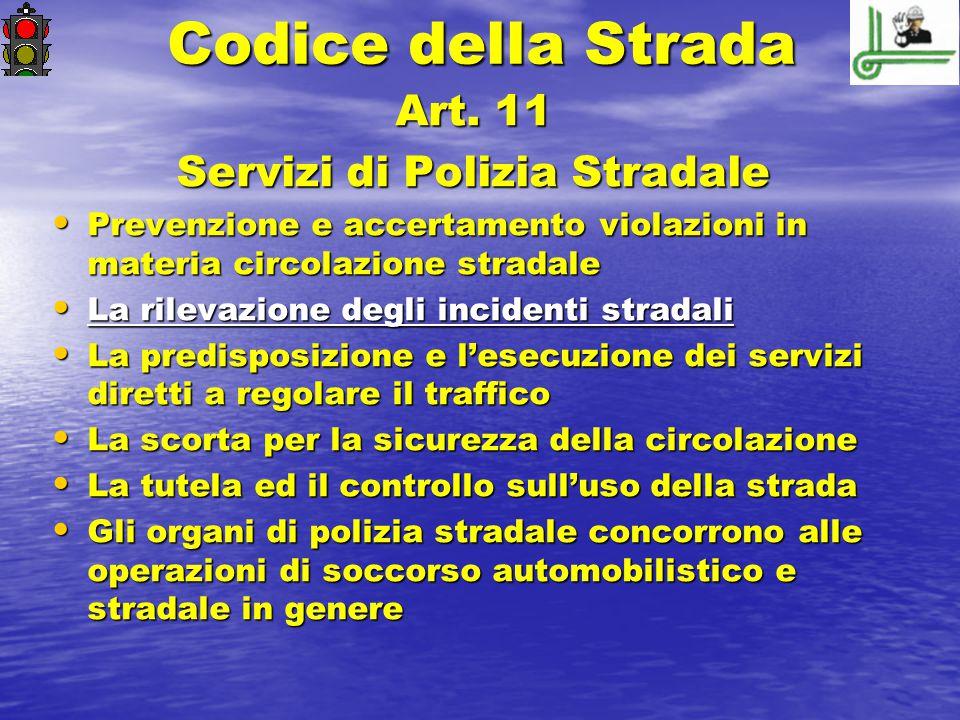 Servizi di Polizia Stradale