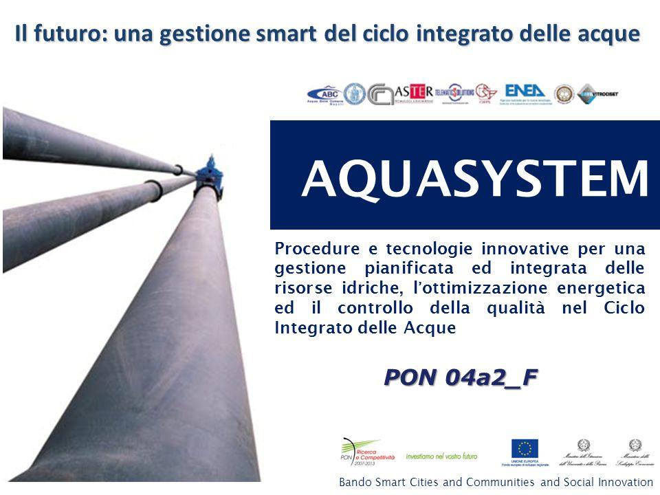Il futuro: una gestione smart del ciclo integrato delle acque