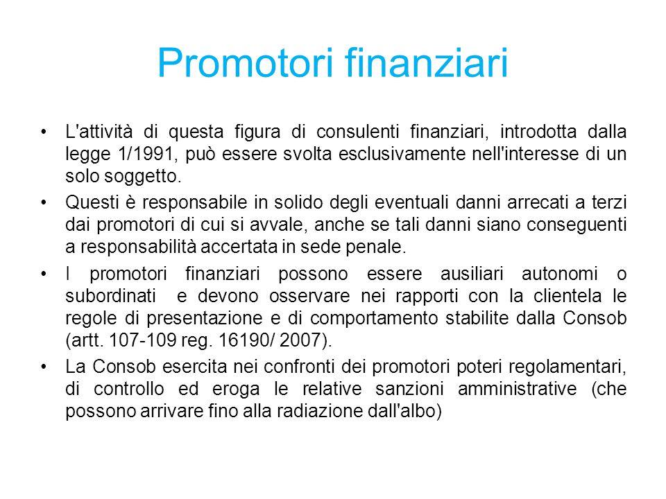 Promotori finanziari