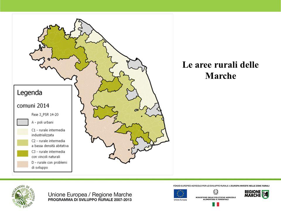Le aree rurali delle Marche