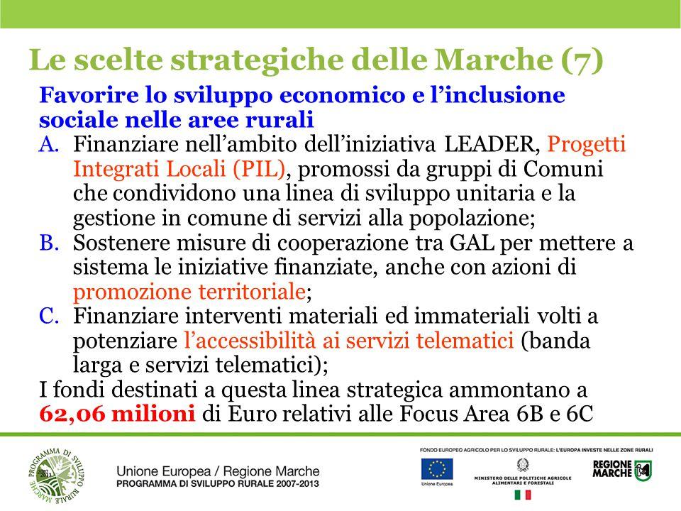 Le scelte strategiche delle Marche (7)