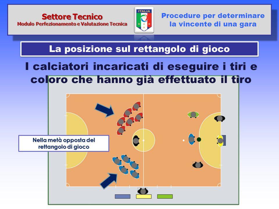 Settore Tecnico Modulo Perfezionamento e Valutazione Tecnica. Procedure per determinare la vincente di una gara.