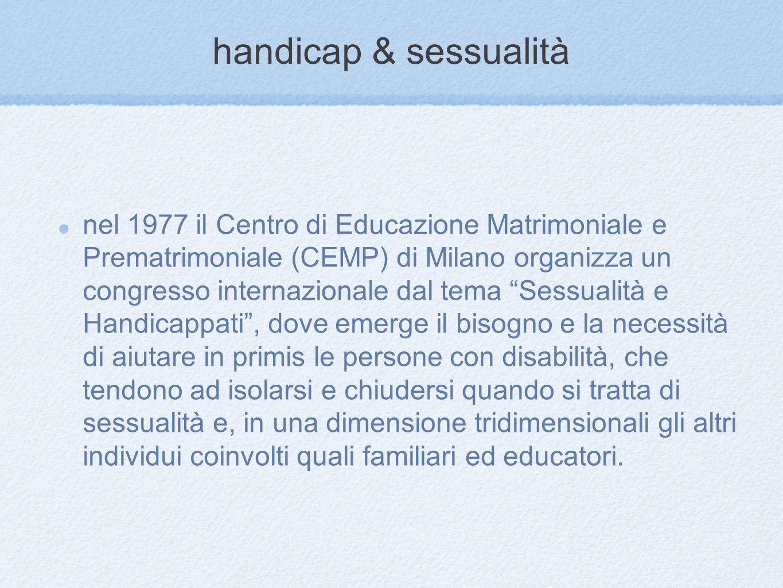 handicap & sessualità