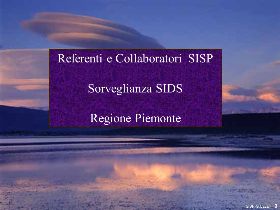 Referenti e Collaboratori SISP