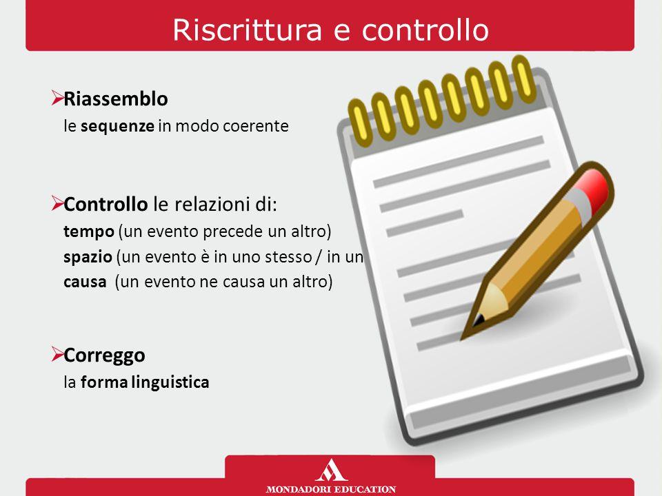 Riscrittura e controllo