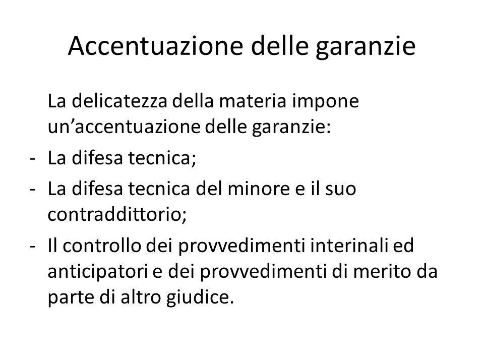 Accentuazione delle garanzie