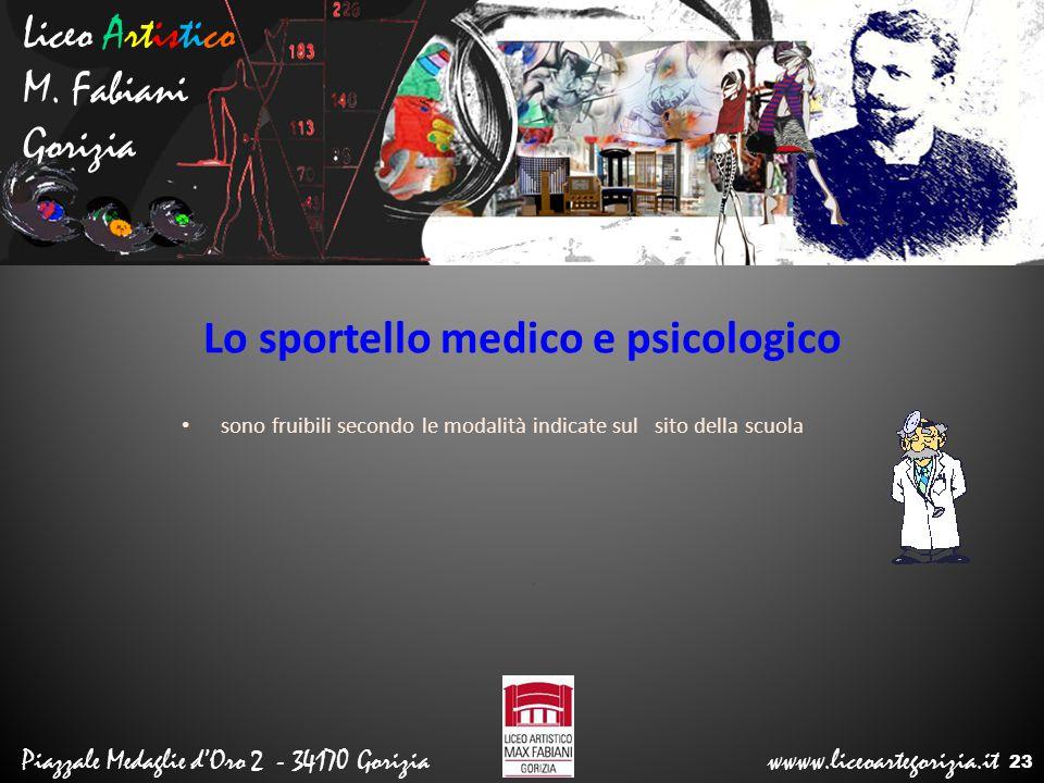 Lo sportello medico e psicologico