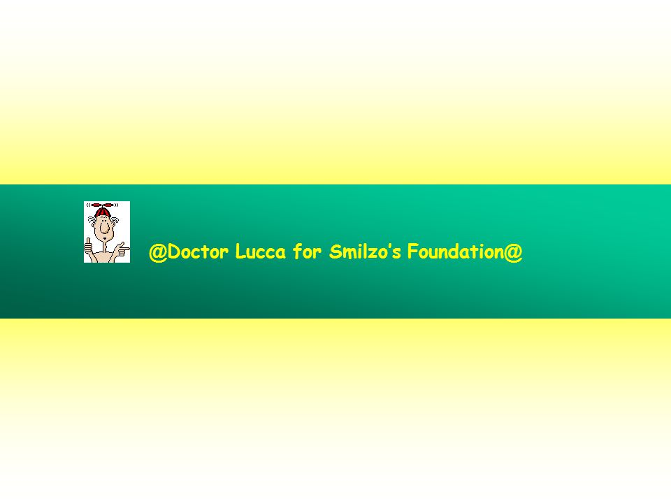 @Doctor Lucca for Smilzo's Foundation@