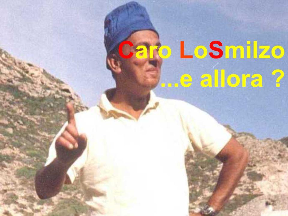 Caro LoSmilzo ...e allora