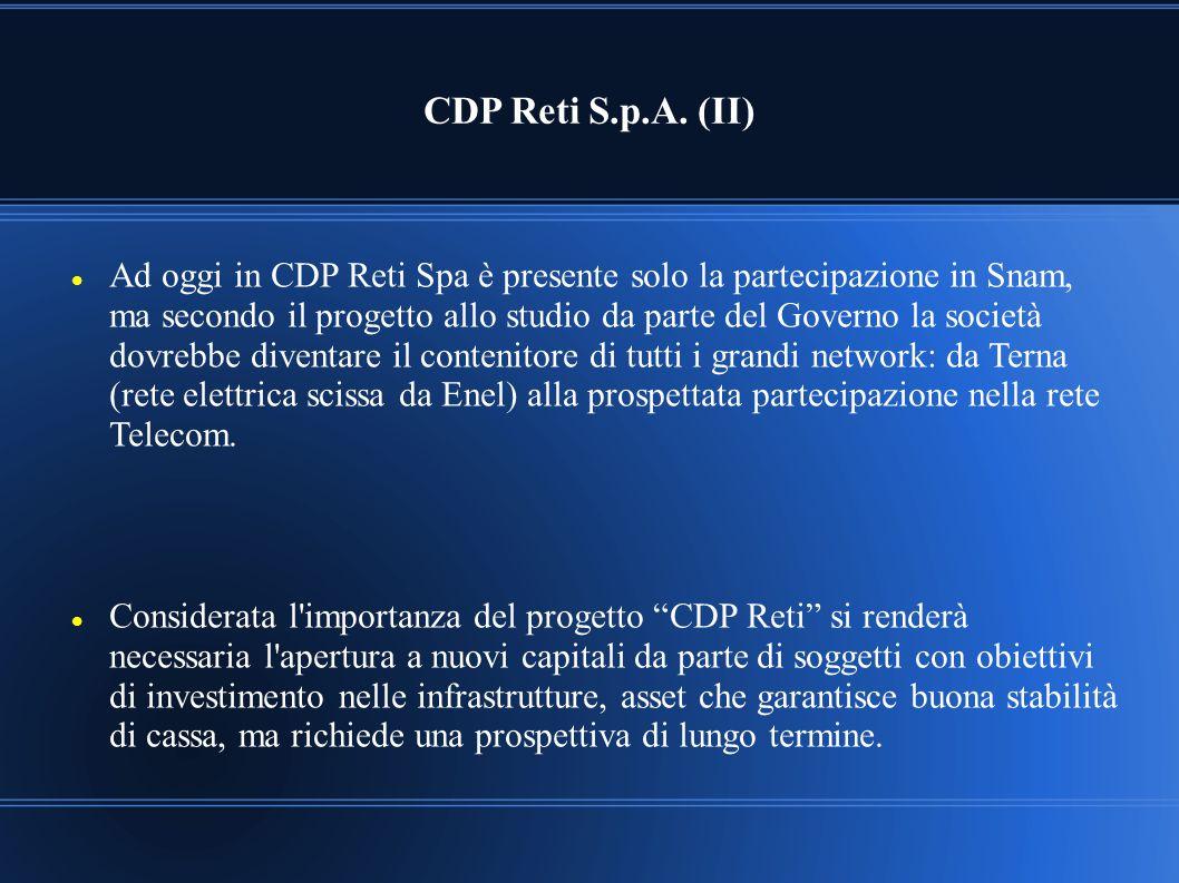 CDP Reti S.p.A. (II)