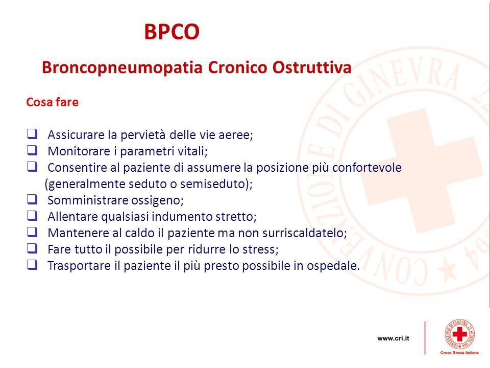 BPCO Broncopneumopatia Cronico Ostruttiva Cosa fare