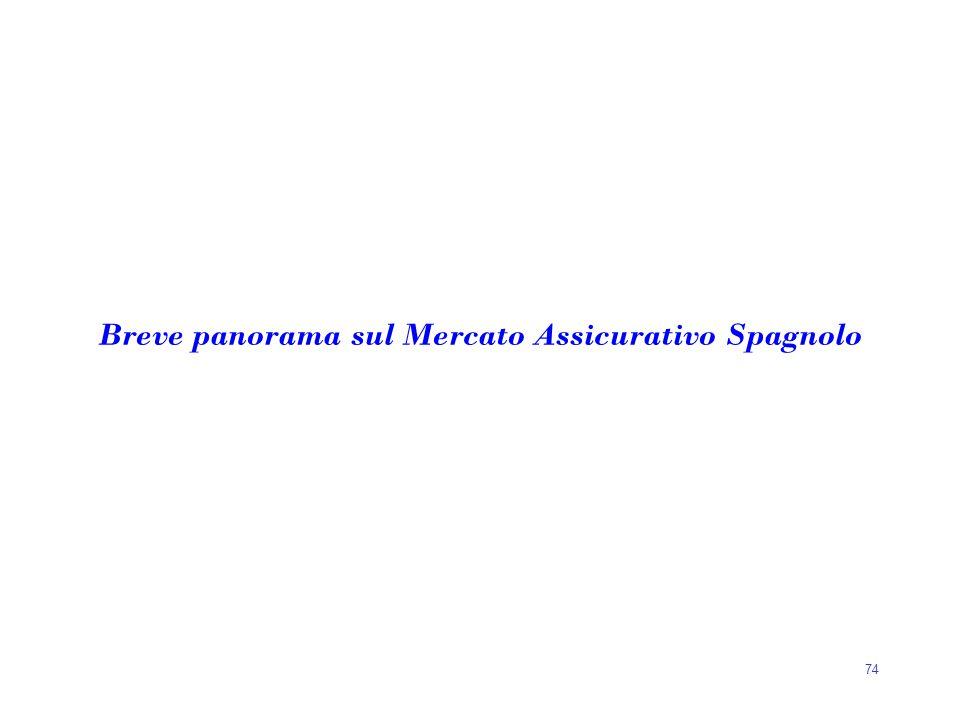 Breve panorama sul Mercato Assicurativo Spagnolo