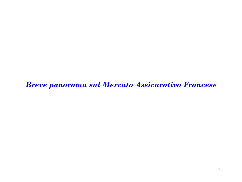 Breve panorama sul Mercato Assicurativo Francese