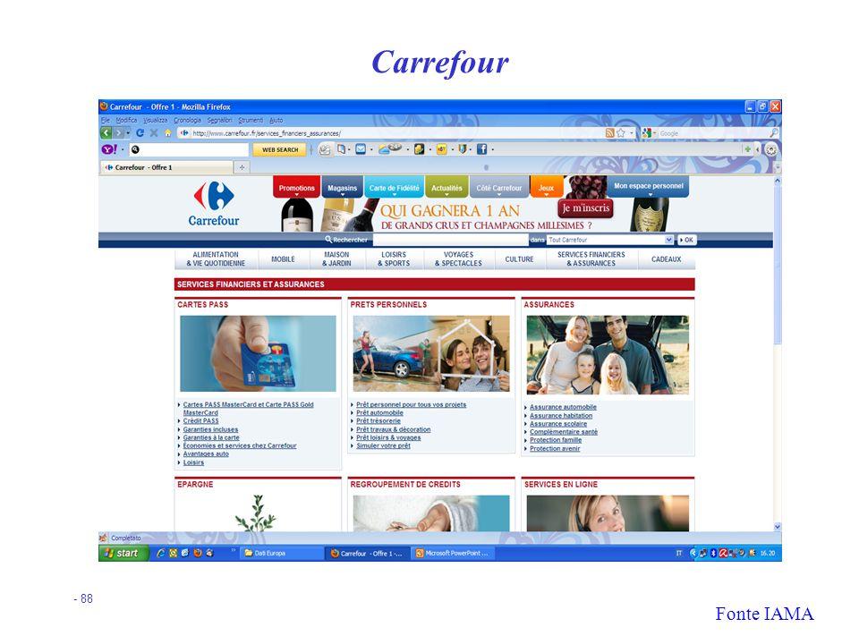 Carrefour Fonte IAMA