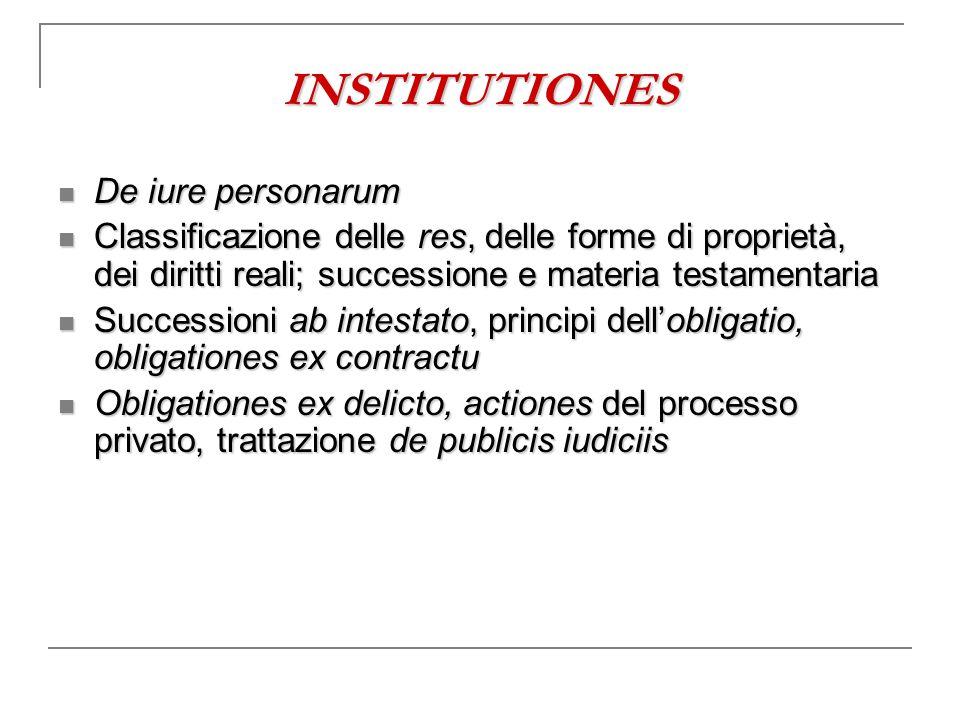 INSTITUTIONES De iure personarum