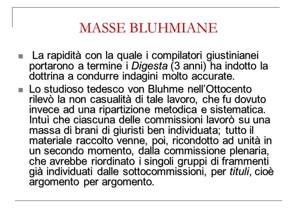 MASSE BLUHMIANE