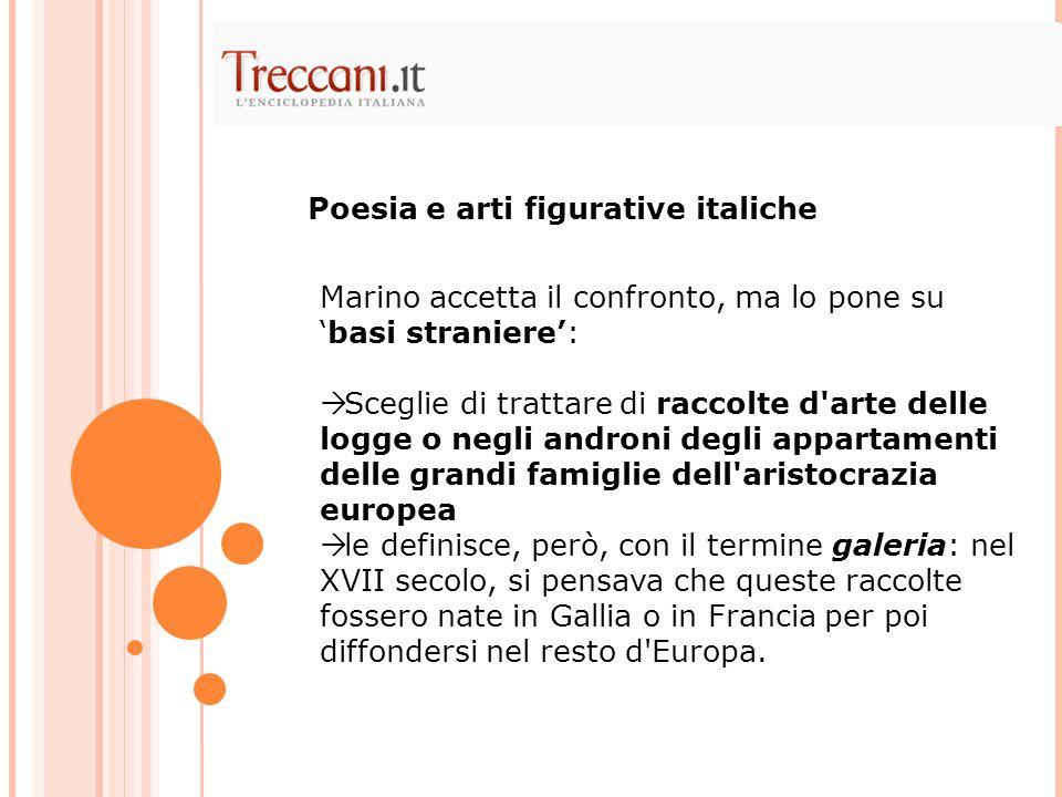 Poesia e arti figurative italiche