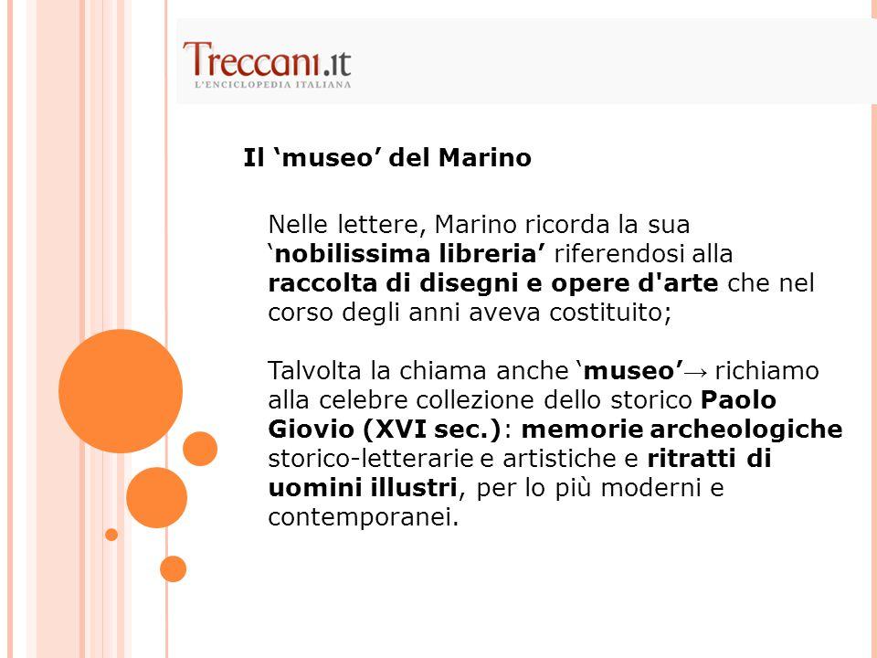 Il 'museo' del Marino