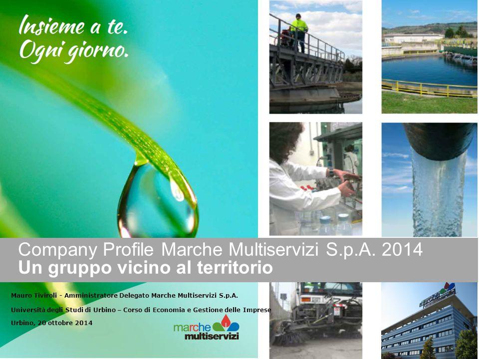 Company Profile Marche Multiservizi S. p. A