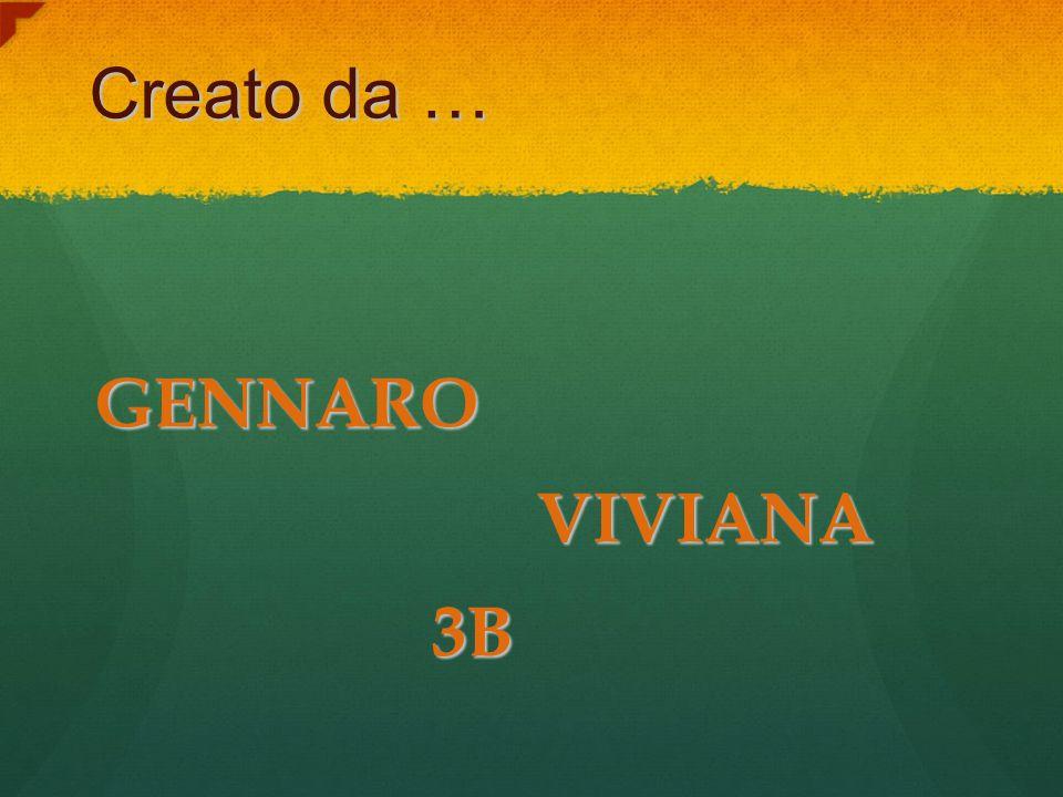 Creato da … GENNARO VIVIANA 3B