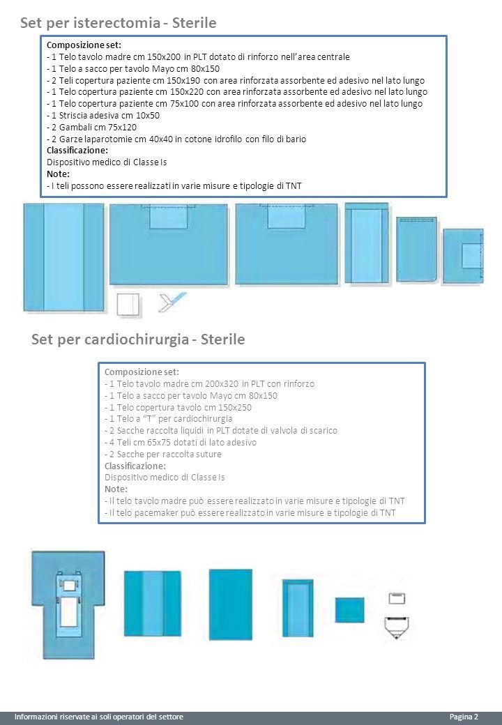 Set per isterectomia - Sterile