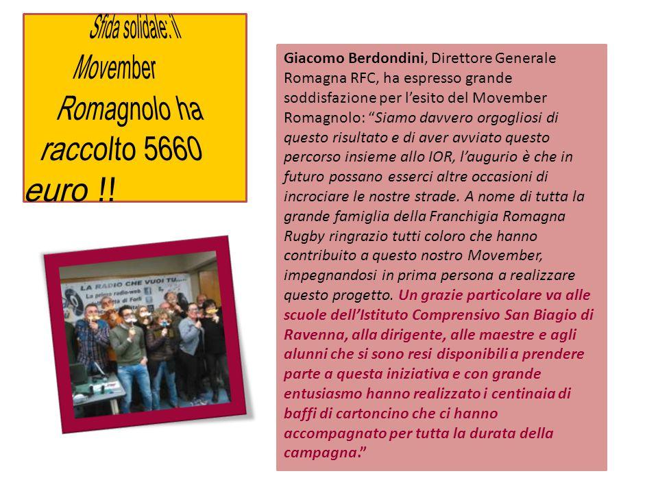 Sfida solidale: il Movember Romagnolo ha raccolto 5660 euro !!