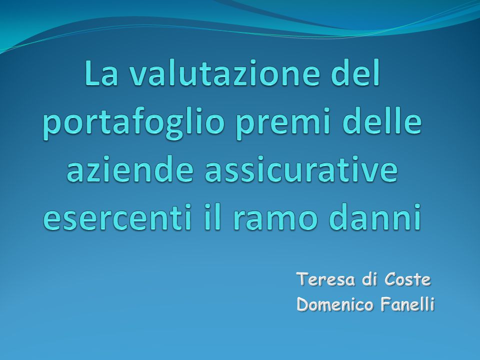 Teresa di Coste Domenico Fanelli