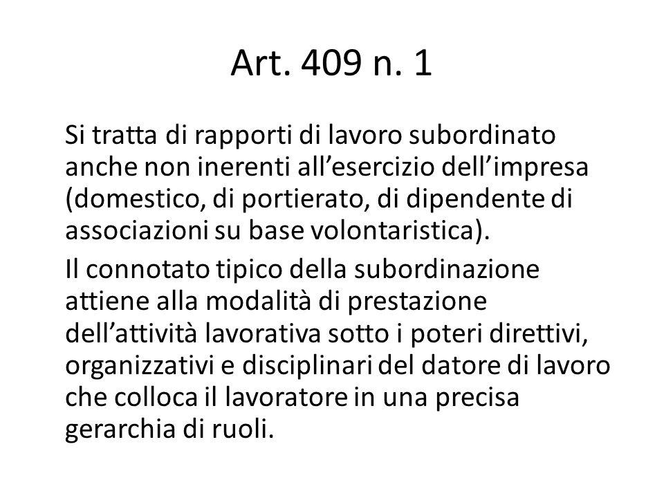 Art. 409 n. 1
