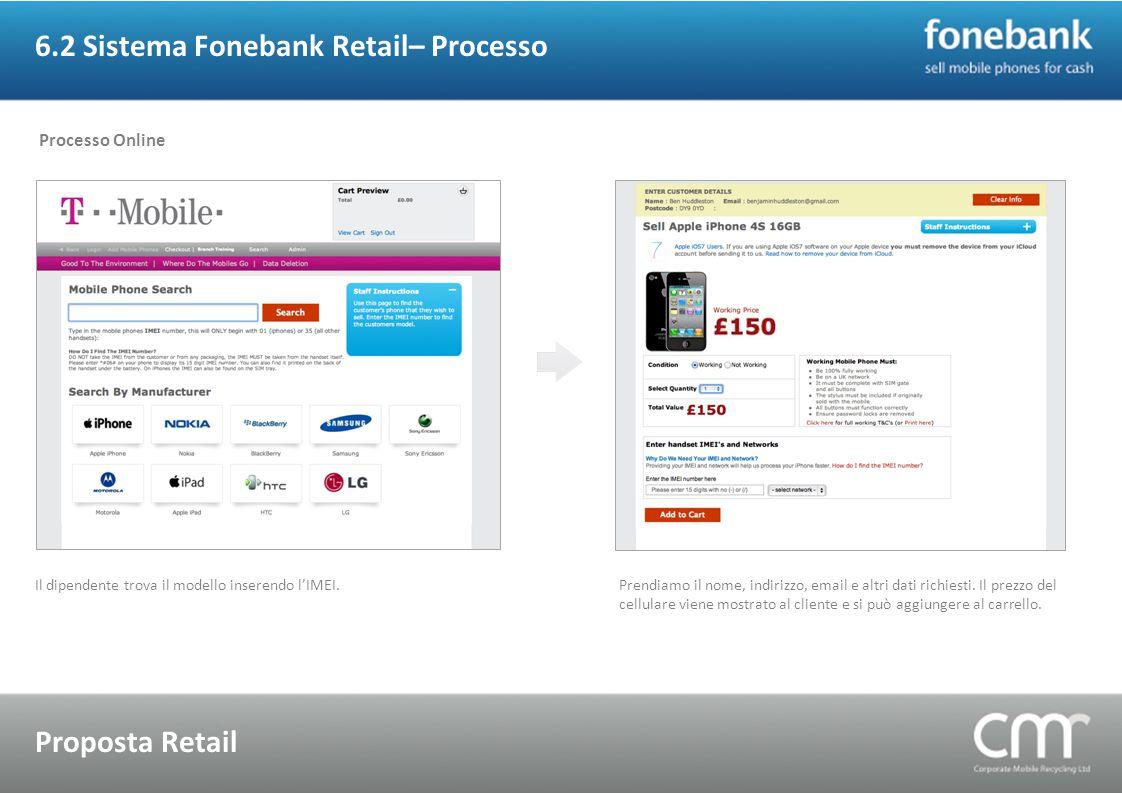 6.2 Sistema Fonebank Retail– Processo