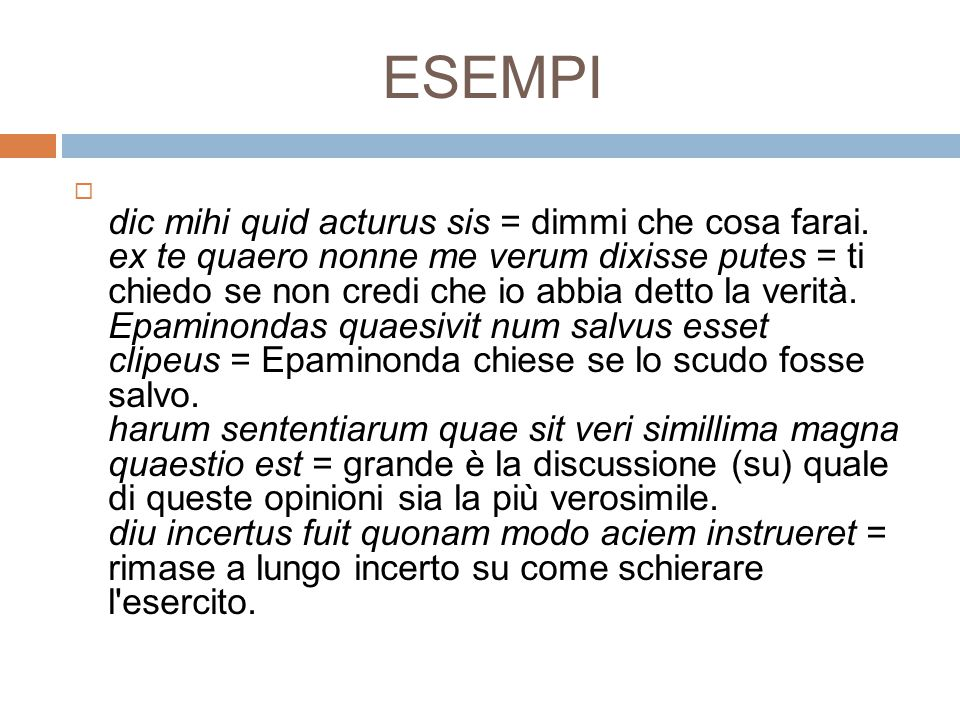 ESEMPI