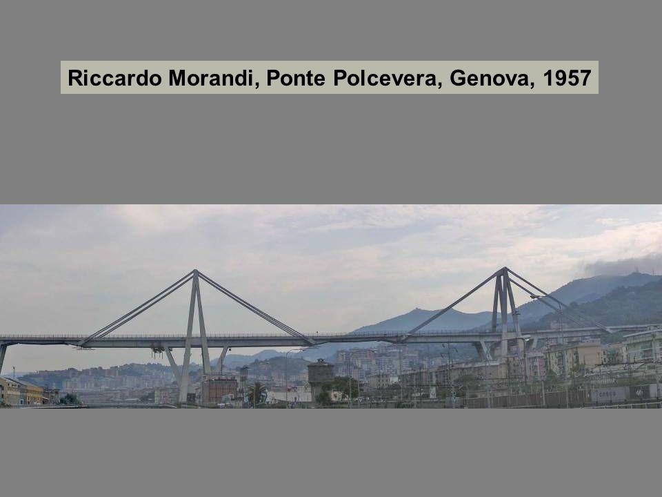 Riccardo Morandi, Ponte Polcevera, Genova, 1957