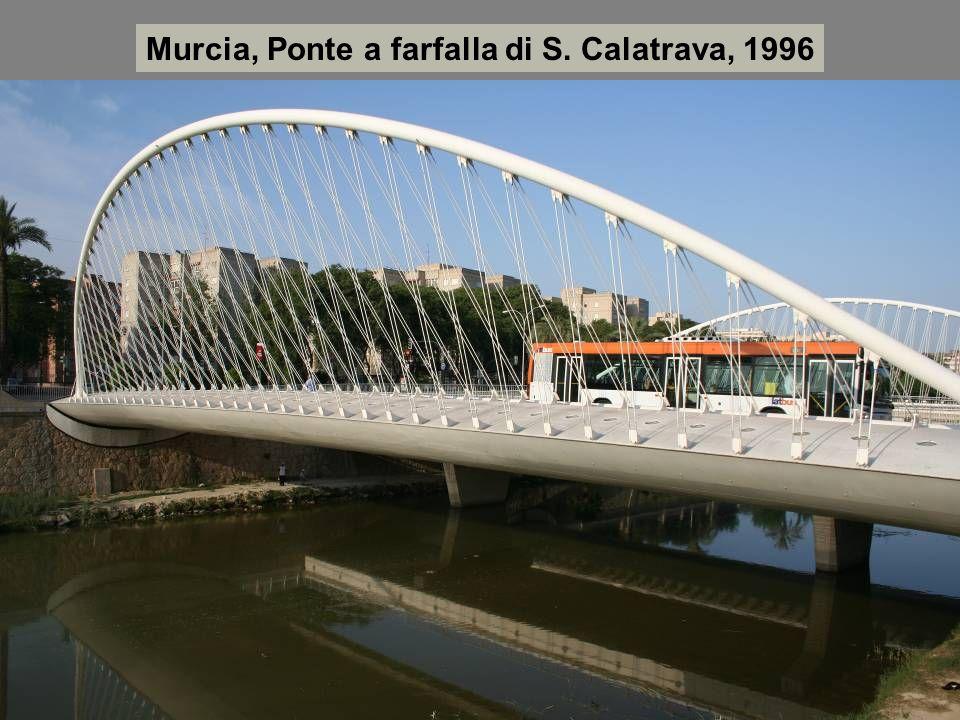 Murcia, Ponte a farfalla di S. Calatrava, 1996