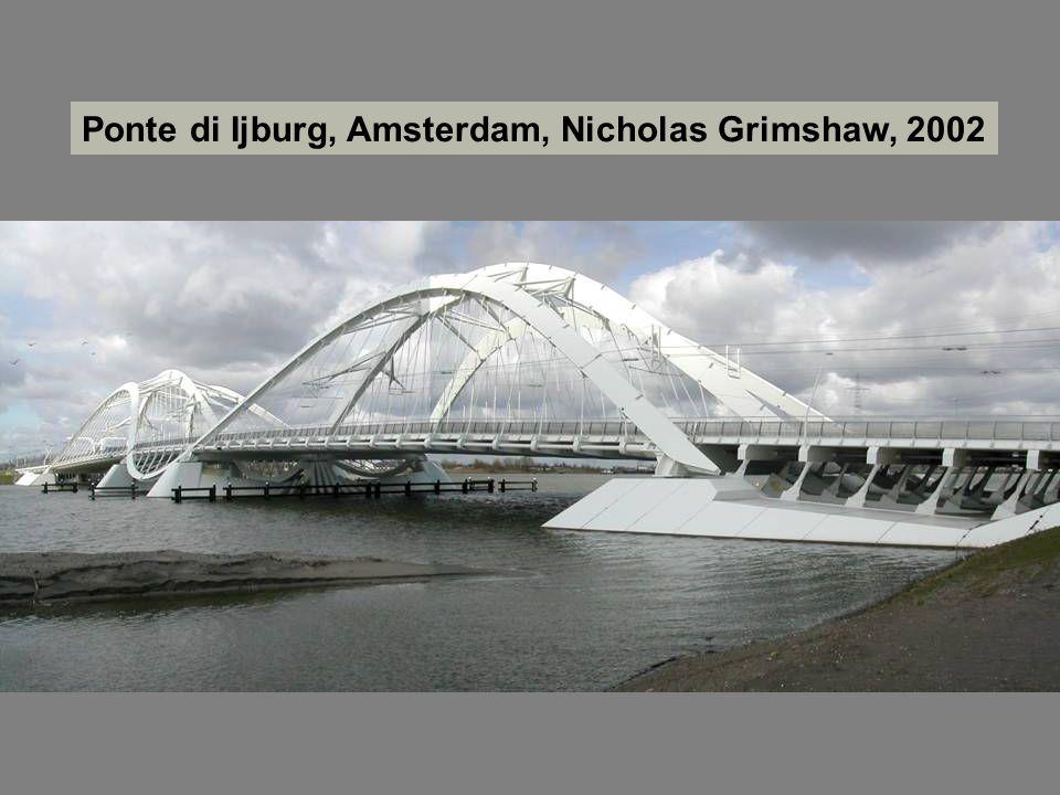 Ponte di Ijburg, Amsterdam, Nicholas Grimshaw, 2002