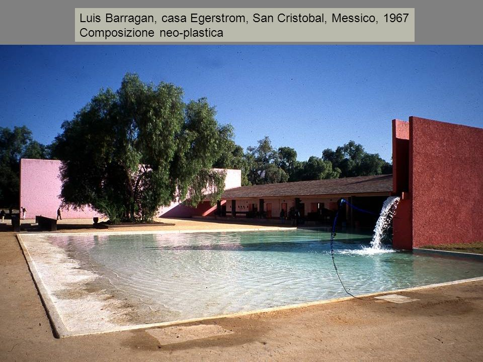 Luis Barragan, casa Egerstrom, San Cristobal, Messico, 1967