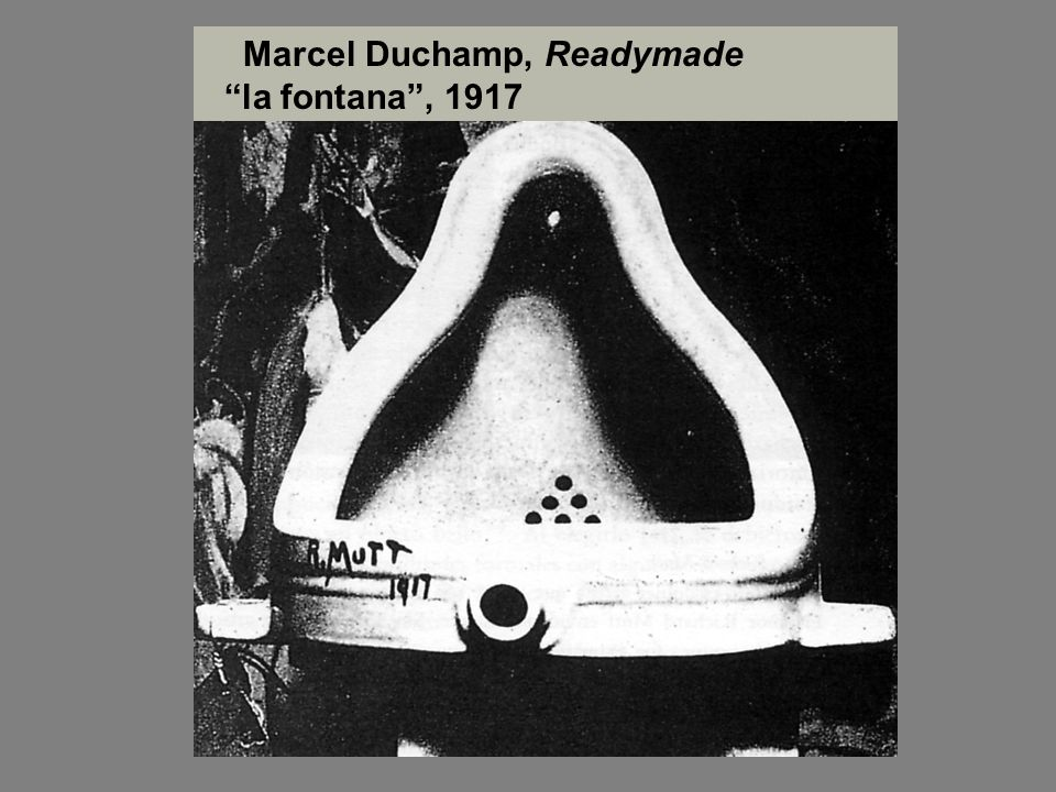 Marcel Duchamp, Readymade