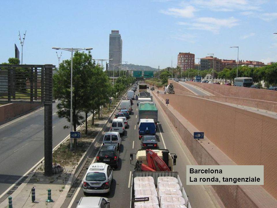 Barcelona La ronda, tangenziale