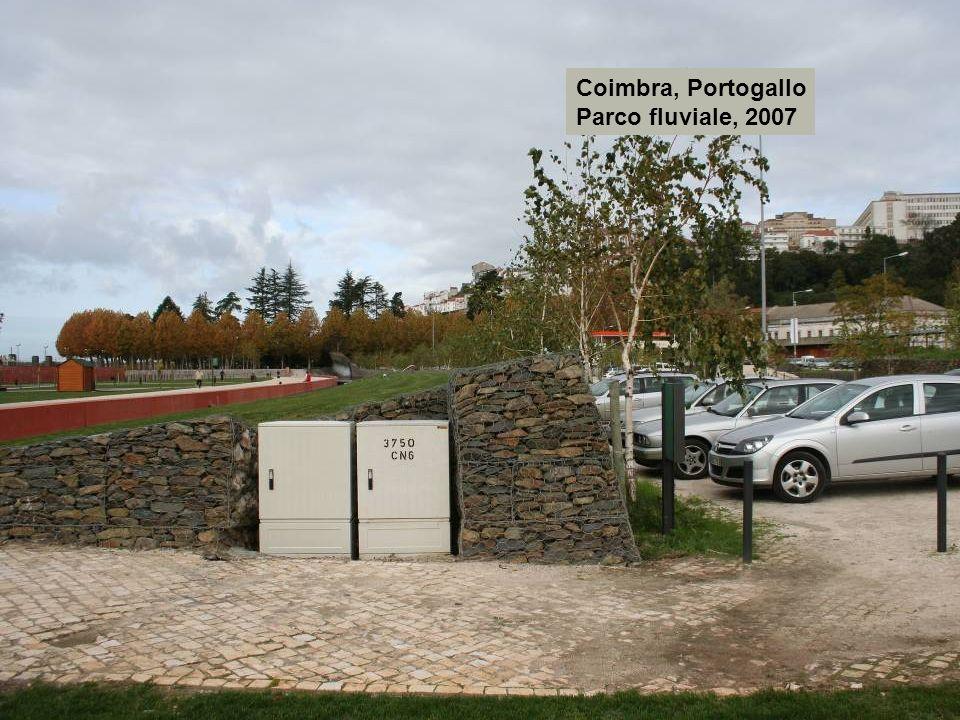 Coimbra, Portogallo Parco fluviale, 2007