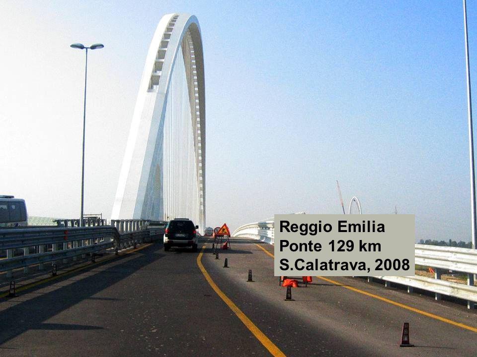 Reggio Emilia Ponte 129 km S.Calatrava, 2008