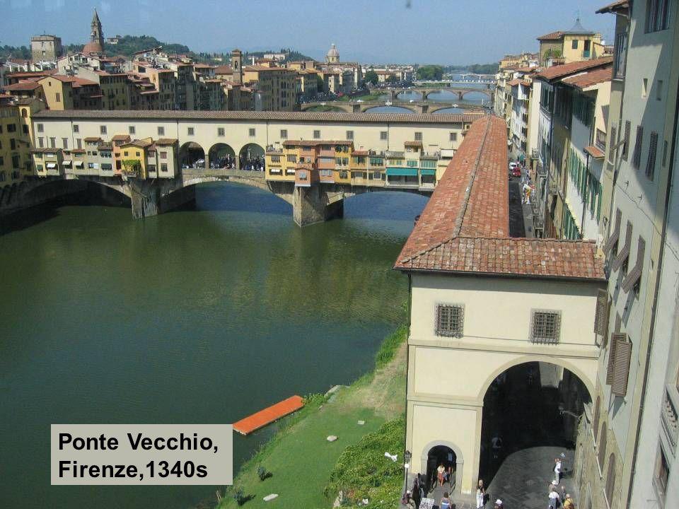 Ponte Vecchio, Firenze,1340s