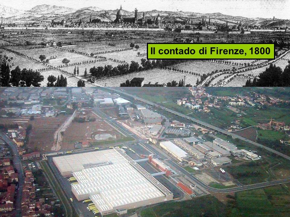 Il contado di Firenze, 1800