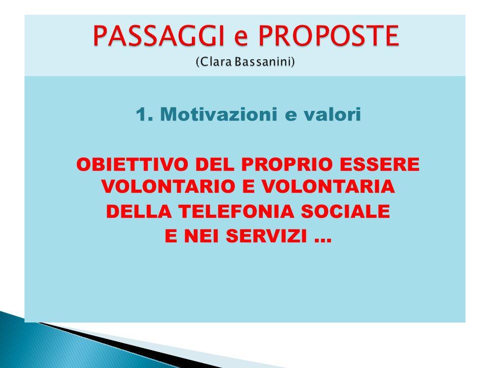 PASSAGGI e PROPOSTE (Clara Bassanini)