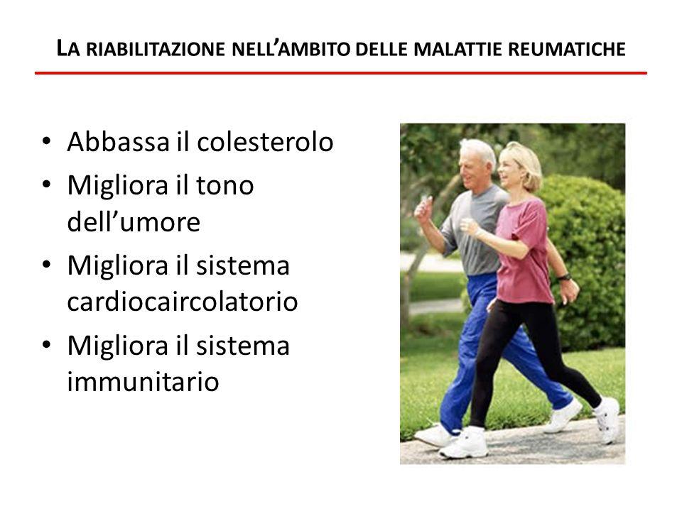 La riabilitazione nell'ambito delle malattie reumatiche